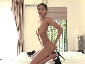 アジアポルノ,美人,デカチン,巨乳,フェラ,タイ人のポルノ
