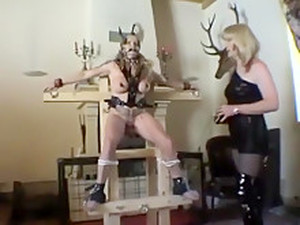 Mature Slave Outdoor Training 2