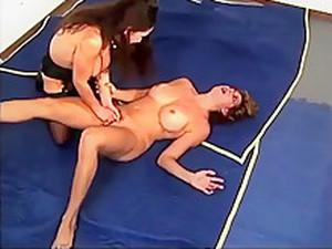 Breast Mauling Catfight - 0.7 - Redhead Vs Brunette - T Vs J
