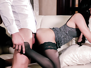 LETSDOEIT - Czech Pinup Babe In Hot DEEP Pussy Fuck