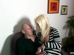 STEP MOM Love ANAL And Seduce Young Boy To Get - German