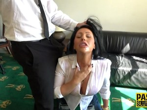 Dominated Brunette Fucked