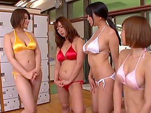 Cute Japanese Chicks Like To Share A Hard Cock More Than Anything
