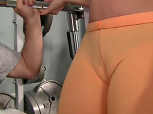 The Sexiest Gym Camel Toe Ever
