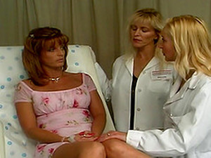 Nurses From Hell Treat Their Patient To A Steamy Lesbian Action In A Close Up Shoot