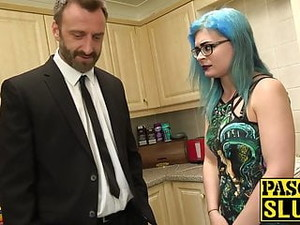 Goth Vixen Caitlin Minx Bondage Banged Before Eating Jizz