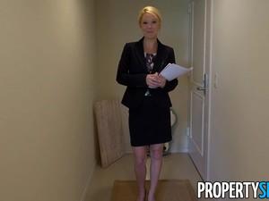 PropertySex Hot Milf Laura Bentley Gets A Creampie