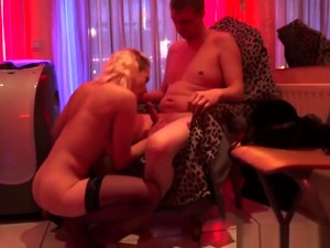 Slutty Dutch Hooker Sucks And Jerks Guys Cock