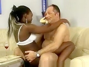 Black African Beauty Gets Fucked In The Ferris Wheel. She