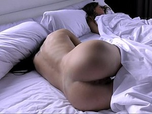 Hairy Teen Girl In Bed With Her Girlfriend