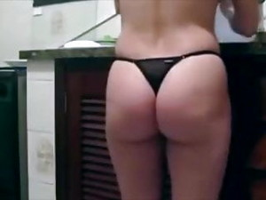 Thong Farts And Arse Spreading