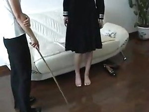 Bastinado Korean Girl