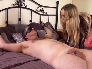 Aiden Starr Tortures Her Tied Up Man