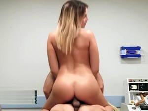BABES - Sexy Doctor Blair Williams Keeps Her Pateints Happy