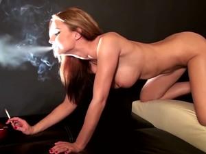 Smoking Doggy Sex