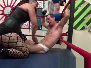 Handjob Wrestling