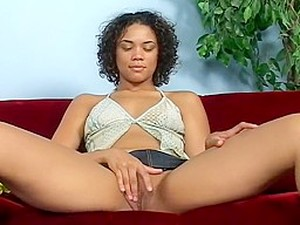 Moist Black Pussy Stretched By Big Cock