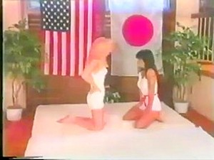Japan Vs Usa Catfight