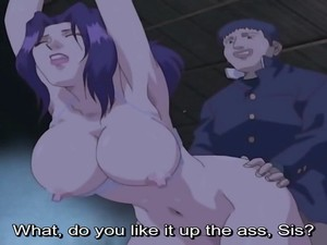 Uncensored Anime School Student Titfuck Surprise Cumshot Uncensored