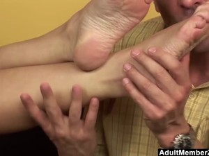 He Would Rather Fuck Her Feet Than Her Pussy