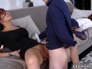 I Mailed My Mom And Milf Monster Teach My Girlcomrade How To Fuck