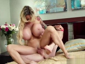 HUGE Titted Bimbo Facefuck, Anal, Ass To Mouth