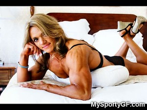 Athletic Muscle Girls!