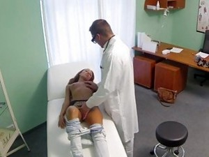 Patient Takes Creampie From Doctor Pov