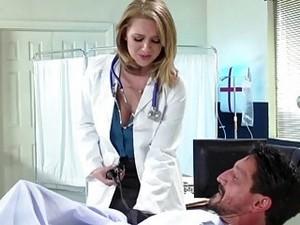 Busty Doctor Brooke Wylde Wants A Big Rod Right Now