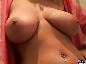 Jerk Off Encouragement Is Hot From This Busty Blonde