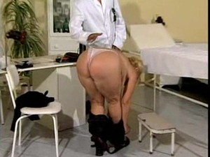 Blond Granny Anna Fucking With Doctor