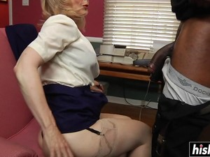 Blonde MILF Gets Her Ass Smashed