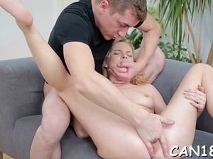 Enticing Lady Baby Dream Getting Stuffed