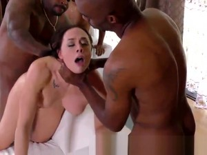 Group Blacked Slut Facial