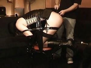 Transvestite Gets Bondaged And Tortured