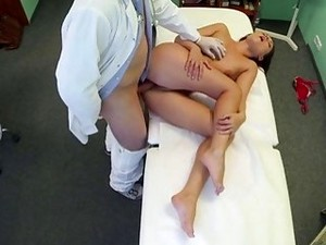 The Innocent Doctor Gets Threesome Fuck