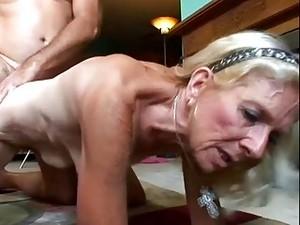 April Ashley Is A Naughty Grandma
