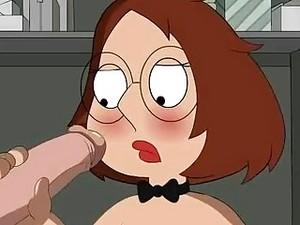 Nasty Slut Meg Griffin Gets Drilled Hard In The Closet
