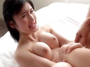 Pale Skinned Korean Sweetie Makes Love To Her Passionate Boyfriend