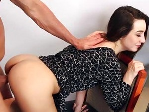 Step Dad Goes Balls Deep On Bambi Brooks