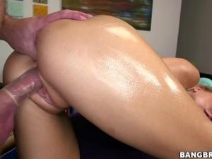 BANGBROS - Zoey Monroe Gets Anal Massage From Mirko Steel