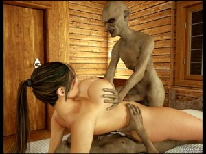 3D Girl Vs Monsters - Featuring 07 Gisella - Comix