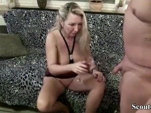 Blonde MILF Drunk With Wine Jungleofsex Com