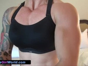 Mandy Squires Muscled Sexy