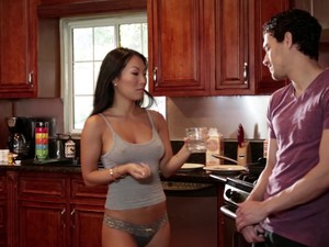 Ana Foxxx Seduces A Hot Fellow For An Interracial Shag