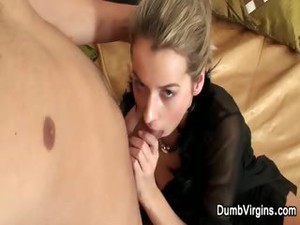 Stud Removes Her Black Lingerie Then Pounds Her