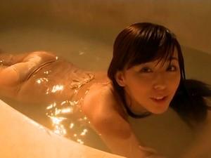 Sweet Asian Beauty With Slim Body Emi It Takes Bath