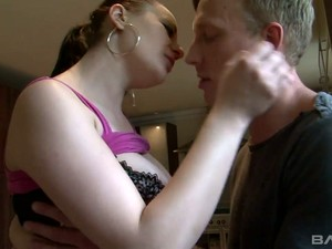 Torrid Black Head Lara Jade Deene Desires To Ride Fat Prick In The Kitchen