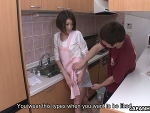 Lovely Japanese Housewifely Nympho Hinata Hyuga Rides Strong Cock On Top