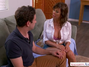 Fabulous Vivid MILF Alexis Fawx Lures Neighbor As She Thirsts For Sex